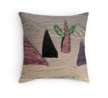 WILD WEST PANTS PARTY *NATIVE PEOPLES* 4 hang on the wall Throw Pillow