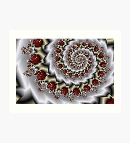 Barbed Nautilus Art Print