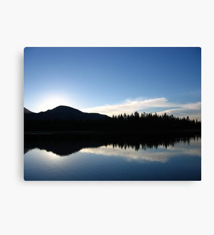 Sunrise at Mirror Lake Canvas Print