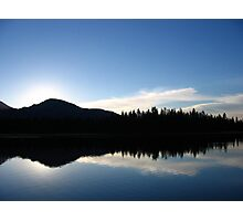 Sunrise at Mirror Lake Photographic Print