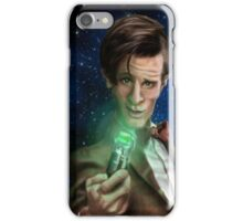 11th Doctor Caricature  iPhone Case/Skin