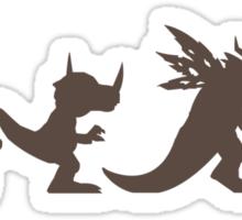 The Evolution of Monsters 1 (Light Version) Sticker