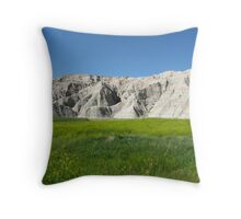 Summertime in the Badlands  Throw Pillow