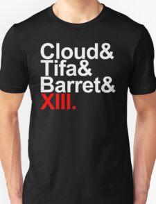 cloud&tifa&barret&xiii T-Shirt
