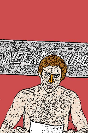 SNL Chevy Chase Weekend Update by CultureCloth