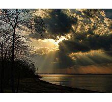Springtime Rays Photographic Print