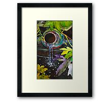 Jungle Water Framed Print