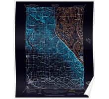 USGS Topo Map Oregon OR Hillsboro 282579 1915 62500 Inverted Poster