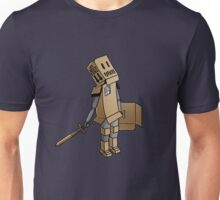 Cardboard Kid: A Kid and His Imagination Unisex T-Shirt