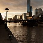 Yarra River Sunset by Jamie Nield