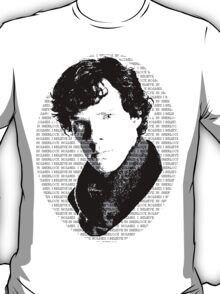Believe in Sherlock propaganda T-Shirt