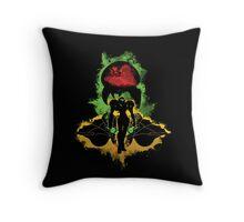 Zebes Conflict Throw Pillow