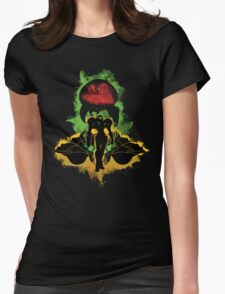 Zebes Conflict Womens Fitted T-Shirt