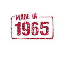 Made in 1965 Photographic Print