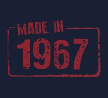 Made in 1967 Kids Clothes