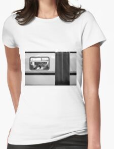 subway Womens Fitted T-Shirt