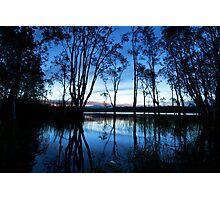 Sunset over Ewen Maddock Dam Photographic Print