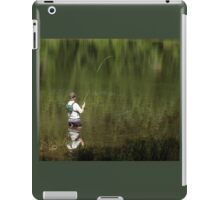 Fly Fishing In Paradise iPad Case/Skin