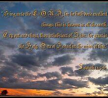 Isaiah Twelve: 5-6 by Glenn McCarthy