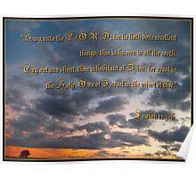 Isaiah Twelve: 5-6 Poster