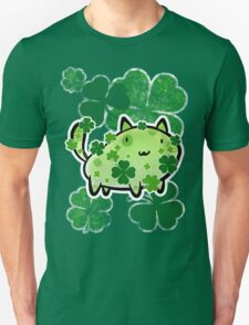 Green Clover Cat T-Shirt