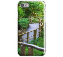 Stairs - Japanese Garden - Butchart Garden iPhone Case/Skin