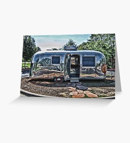 New Belgium Airstream Greeting Card