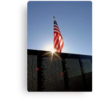Remembering Our Heros Canvas Print