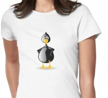 Piqued Penguin Womens Fitted T-Shirt