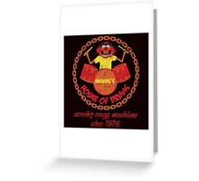 House of Drums (distressed) Greeting Card