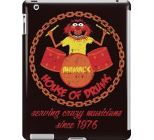 House of Drums (distressed) iPad Case/Skin