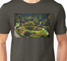 Sunken Garden - Butchart Garden Unisex T-Shirt