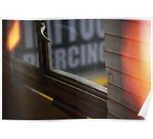 Window.  Poster