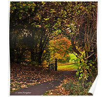 Wooded Gate Poster
