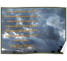 Psalm 57 One Poster