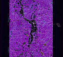 USGS Topo Map Washington State WA Chewelah 240464 1927 125000 Inverted by wetdryvac
