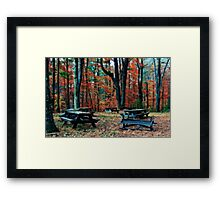Closed for Season  Number 2 {Orton) Framed Print
