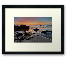 Roches Beach Sunrise HDR Framed Print