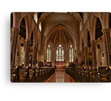 St.James Cathedral Toronto Canvas Print