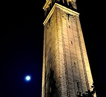 Cal Berkeley Bell Tower by Bob Moore