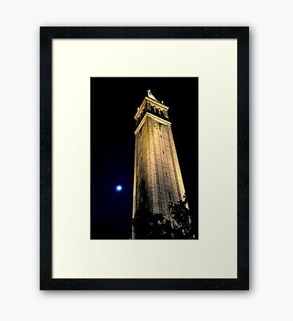Cal Berkeley Bell Tower Framed Print