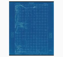 USGS Topo Map Washington State WA Quincy 243361 1910 62500 Inverted Baby Tee