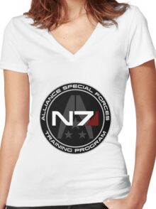 Alliance Special Forces Mk. 4 Women's Fitted V-Neck T-Shirt