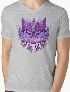 Lavender Town Mens V-Neck T-Shirt