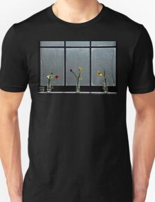 Flowers on a window ledge. T-Shirt