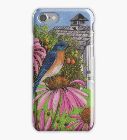Bluebird In My Backyard iPhone Case/Skin