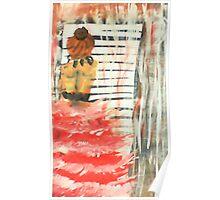 Longing, watercolor Poster