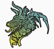 Tribal dragon 4th by LUUUL