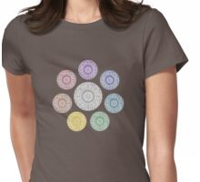 colours of life - chakras Womens Fitted T-Shirt