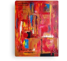 Intensity with Feeling Canvas Print